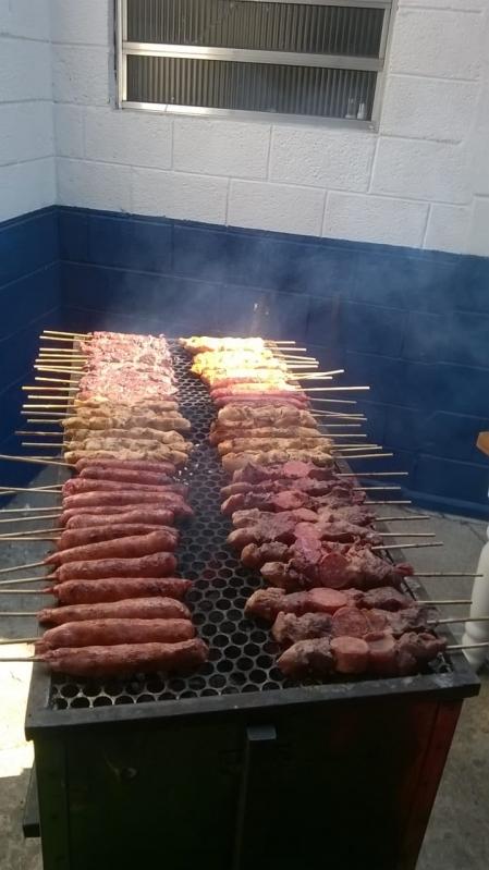 Buffet de Churrasco Carne e Carvão em Caieiras - Buffet de Churrasco Completo