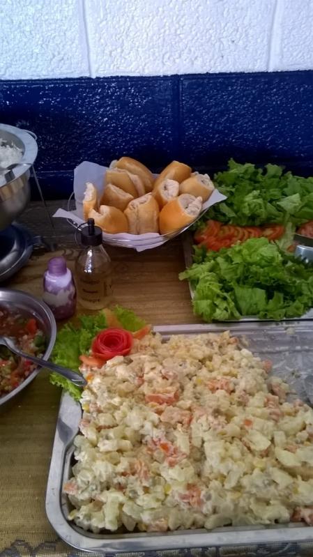 Churrasco com Saladas e Frutas em Empresas Preço Consolação - Festas com Churrasco em Empresas