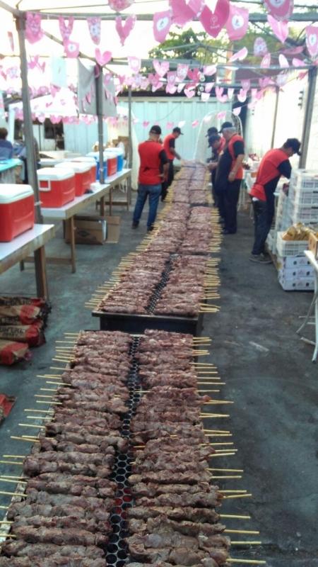 Contratar Buffet de Churrasco Carne e Carvão em São Vicente - Buffet de Churrasco e Saladas