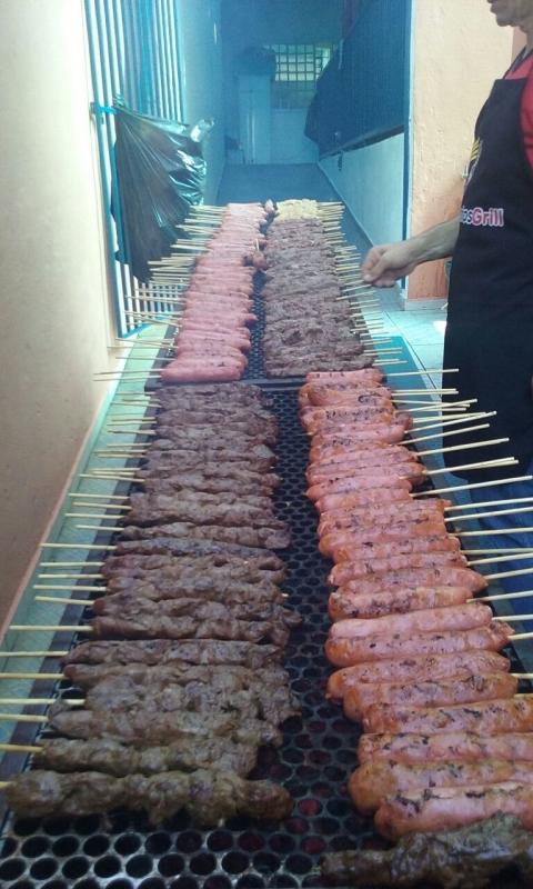 Serviço de Buffet de Churrasco Carne e Carvão em Santa Isabel - Buffet de Churrasco para 100 Pessoas