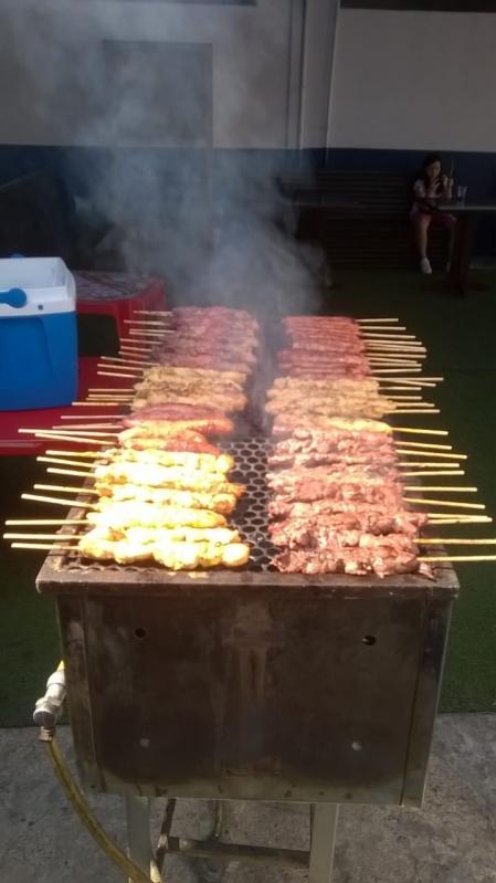 Serviço de Churrasco para Festa de Aniversário Santa Cecília - Serviço de Churrasco para Festa de Casamento