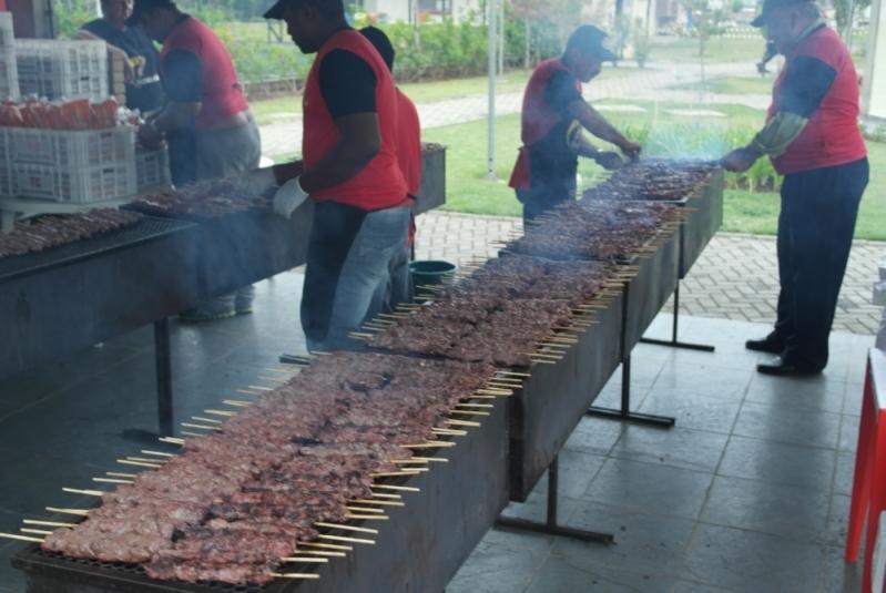 Serviços de Churrasco para Festa de Aniversário São Vicente - Serviço de Churrasco para Festa de Noivado