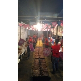 buffet de churrasco carne e carvão preço em Poá