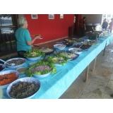 buffets de churrasco completo na Praia Grande