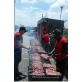 buffets de churrasco para 100 pessoas na Praia Grande