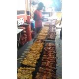 churrasco para eventos de frango na Praia Grande