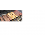 comprar espetinho de carne para eventos em Santos