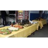 contratar buffet de churrasco e saladas em Santa Isabel