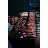 contratar buffet de churrasco para 150 pessoas em Mauá