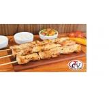 espetinho de frango para eventos em Cajamar