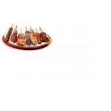 espetinhos de frango para eventos em Mongaguá