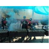 festas com churrasco completo para empresas preço Jardim Marajoara