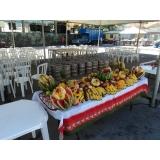 onde encontro churrasco com saladas e frutas em empresas Santa Isabel