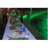 onde encontro festas a domicílio com saladas e bebidas Santa Isabel
