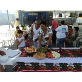 onde encontro festas com churrasco em empresas Jaraguá