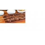quanto custa espetinho de carne para eventos em São Vicente