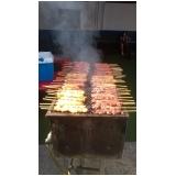 serviço de churrasco para festa de aniversário Santa Isabel