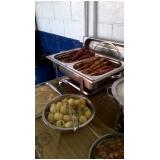 venda de espetinhos para festa de aniversário em Mongaguá