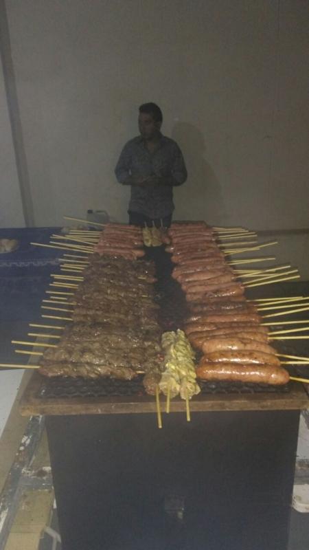 Venda de Espetinho para Festa Infantil em Guarujá - Espetinho de Carne para Festa