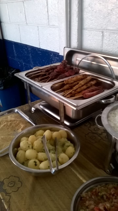 Venda de Espetinhos para Festa de Aniversário em Mongaguá - Espetinho de Linguiça para Festa