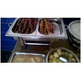 espetinho para festa de churrasco em Santa Isabel