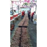 quanto custa espetinho de carne para festa em Poá