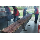 quanto custa serviço de churrasco para festa de confraternização Campo Belo